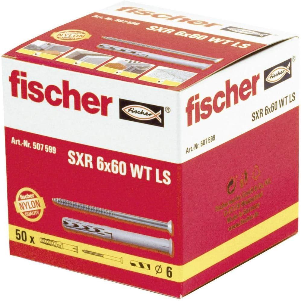 50 St/ück Fischer Rahmend/übel SXR 6X60 WT LS