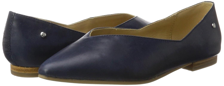 Marc O'Polo Damen 70214003001100 Ballerina Blau) Geschlossene Ballerinas Blau (Dark Blau) Ballerina 54a691