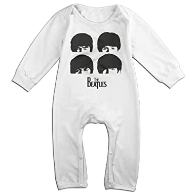 Amazon Com The Beatles Rock And Roll Logo Baby Onesie Romper