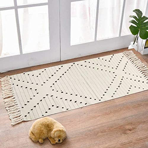 LIVEBOX Cotton Area Rug Runner