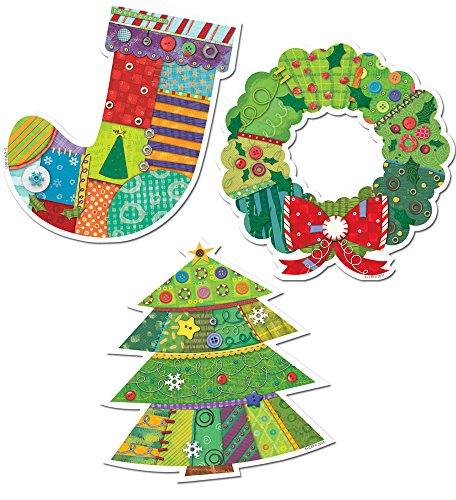 Creative Teaching Press 6-Inch Designer Cut-Outs, Winter Holiday (6437)