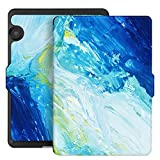Ayotu Case for Kindle Voyage E-reader Auto Wake and Sleep Smart Protective Cover, Made For 2014 Kindle Voyage Case Painting Series KV-09The Oil Painting