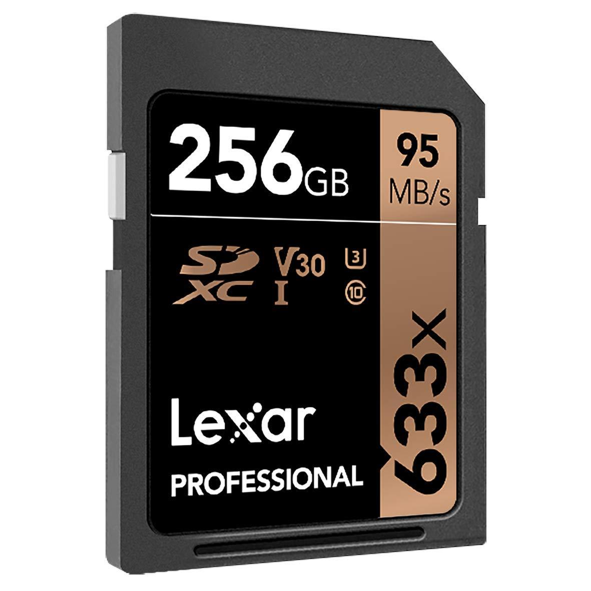 Lexar Professional 633x - Tarjeta de memoria de 256 GB (SDXC, UHS-I)