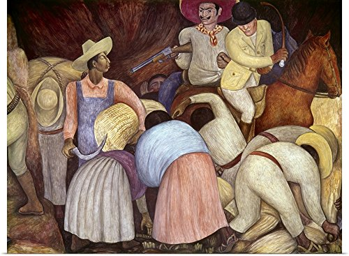 r Print entitled Rivera: Mural, 1920's by Diego Rivera 24