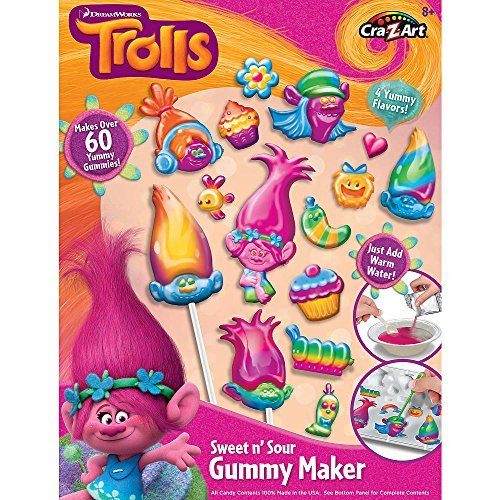 Trolls Gummy Candy Making Set