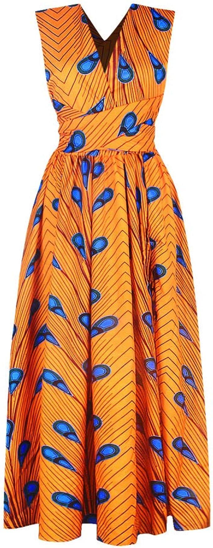 Yuhualiyi123 Vestidos de Mujer Estampados Digitales Atractivos ...