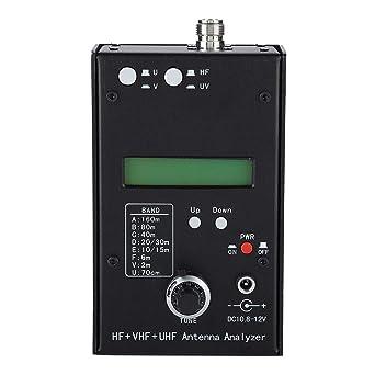 Analizador de Red, Portátil de Mano HF VHF UHF Analizador de ...