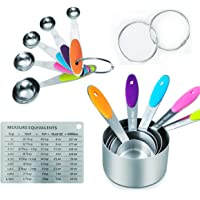 RWM 11 Piece Measuring Cups and Spoons Set in 18/8 Stainless Steel