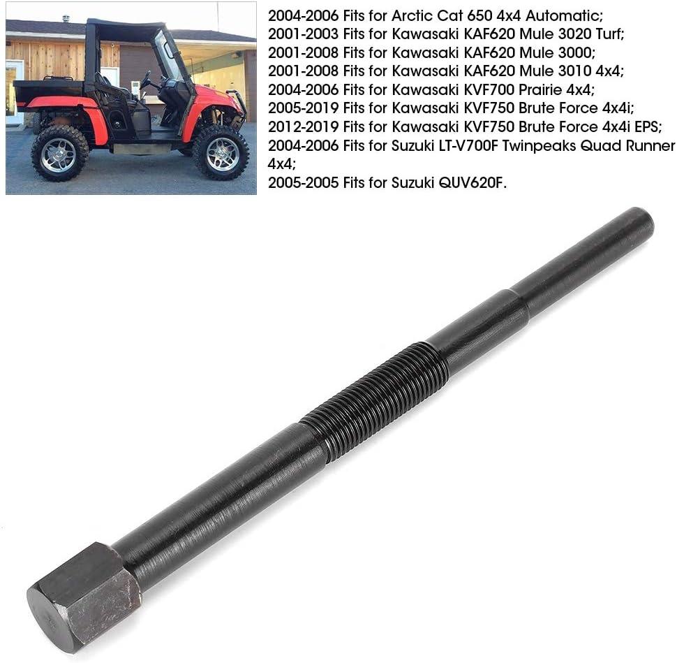 Akozon Reemplazo de la herramienta de hierro del extractor del embrague de la transmisi/ón primaria 57001-1404 57001-1429 Se adapta a los ATV de UTV Mule//Prairie//Brute Force
