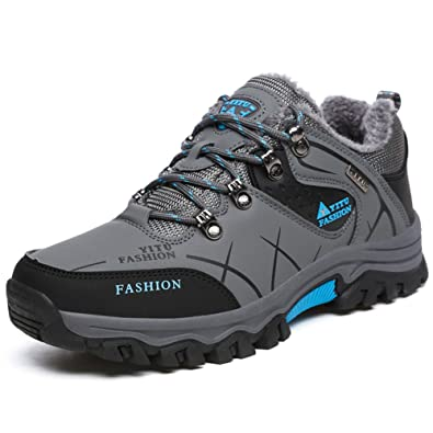 GOMNEAR Senderismo Botas de Montaña Hombres Anti Skid Walking Zapatos Al Aire Libre Travel Camping Boot Plus Size Disponible: Amazon.es: Zapatos y ...