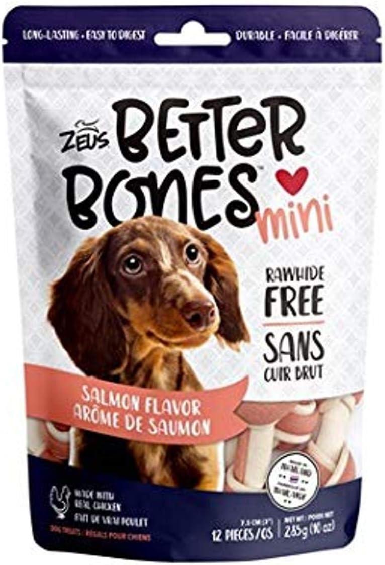 24 Pack Almond Flavor Mini Bones Zeus Better Bones