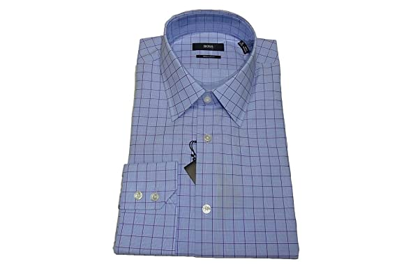 4d2ff6d11 Image Unavailable. Image not available for. Color: Boss Hugo Boss Enzo  Regular Fit Dress Shirt ...
