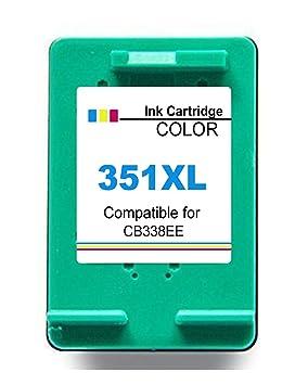 351XL Cartucho remanufacturado de Tinta para HP 351 XL para ...