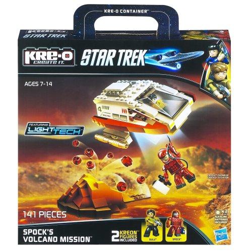 KRE-O Star Trek Spock's Volcano Mission Construction Set (A3139) (Star Trek Toys Kre O)