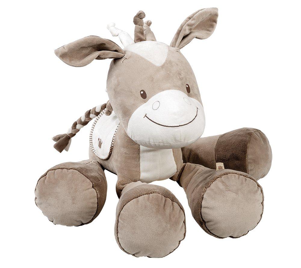 Nattou Peluche Géante pour Bébé, Fille et Garçon, 60 cm, beige - Noa le cheval Fille et Garçon NATGG 777032