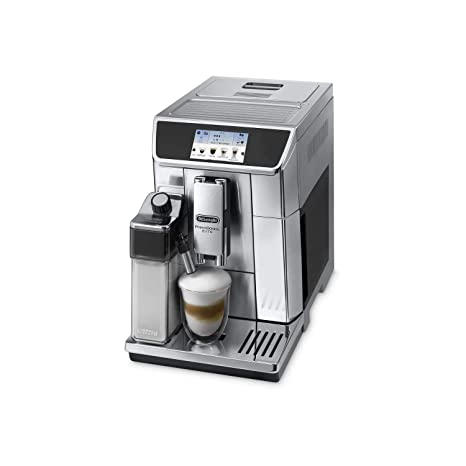 Delonghi super-automatic espresso coffee machine with double boiler, milk frother, chocolate maker for brewing espresso, cappuccino, latte, macchiato ...