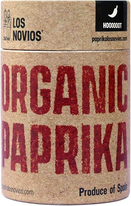 Pimentón Ecológico Picante 60 g - Paprika BIO Los Novios Organic Gourmet: cultivado y envasado en España (ES-ECO-024) (Picante): Amazon.es: Alimentación y bebidas