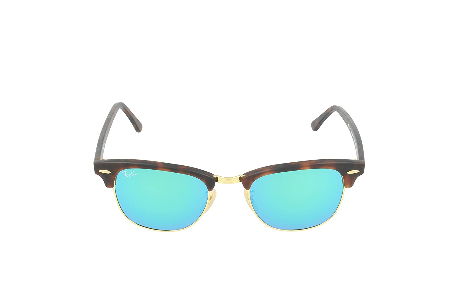 ray ban clubmaster square polarized  Amazon.com: Ray-Ban CLUBMASTER - SAND HAVANA/GOLD Frame GREY ...