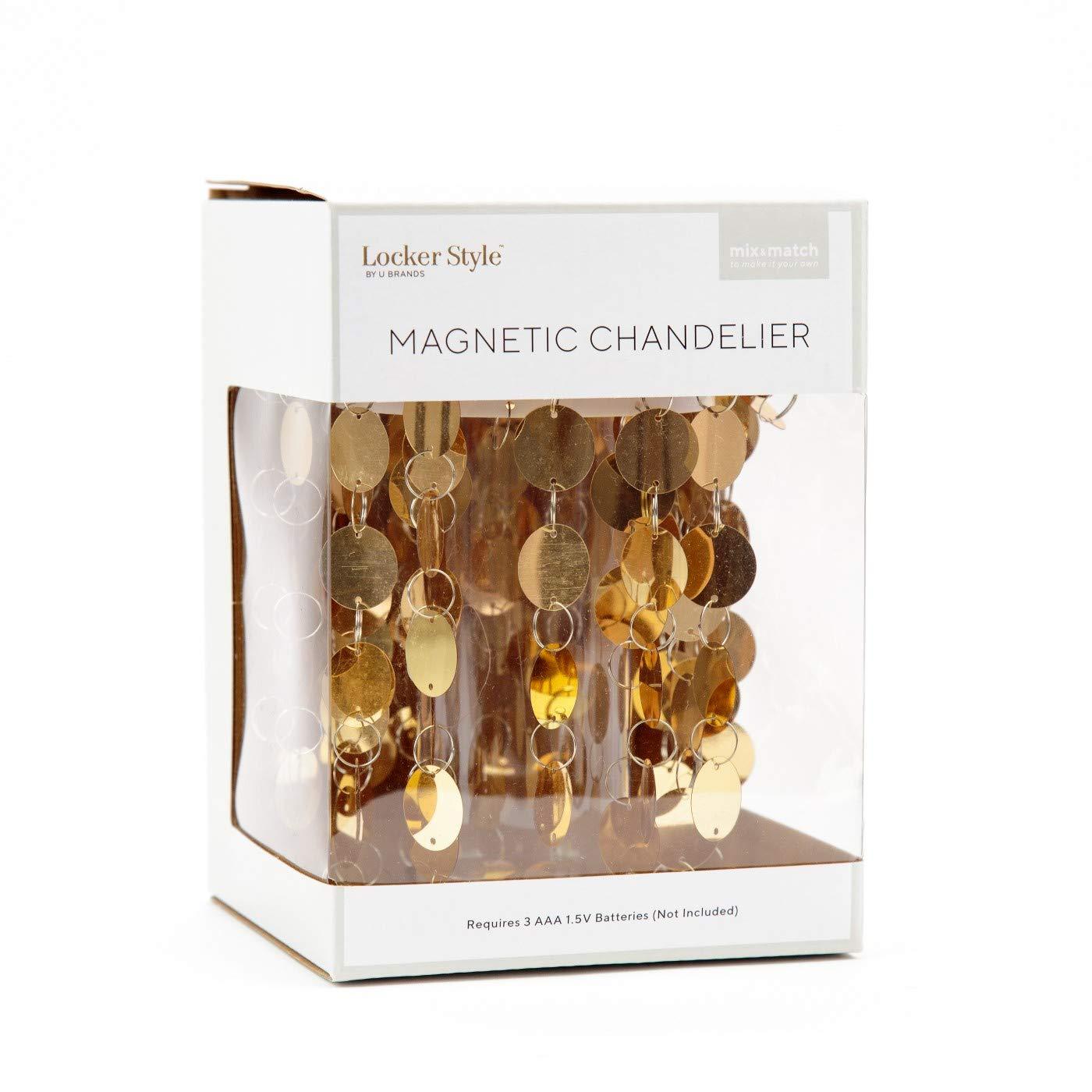 Magnetic LED Chandelier Gold