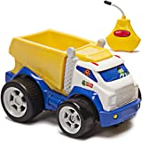 Kid Galaxy PBS Kids Remote Control Dump Truck. Toddler RC Construction Toy For Boys & Girls Age 2, 3, 4 & Up, Yellow Juguetes Camion De La Basura Construccion. From Co. Behind Wild Kratts Vehicle