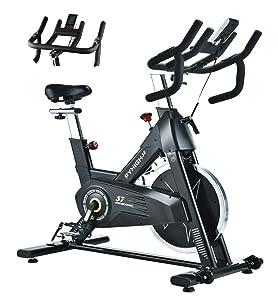 Pyhigh Indoor Cycling Bike-48lbs Flywheel Belt Drive Stationary Bicycle