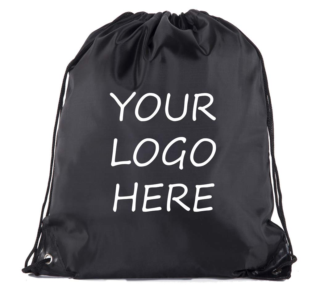 Mato & Hash Custom Logo Drawstring Backpacks, Personalized Bags Promotional Events & More!
