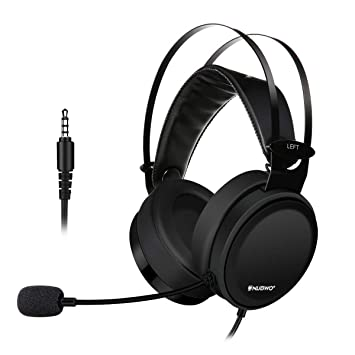e4388c8b13 Casque Gaming PS4 ELEGIANT Casque Filaire PlayStation Oreillette Gamer  Pliable Ecouteur noir avec Micro Audio Stéréo