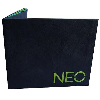 adidas Hombre Neo papel cartera, One Size, Negro