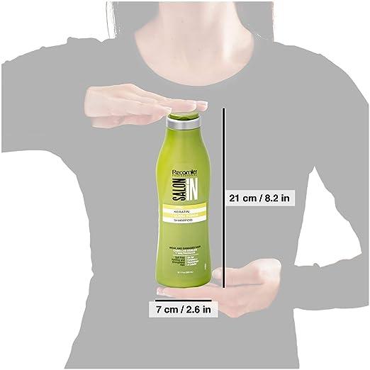 Amazon.com : RECAMIER 34325 Keratin Hydrating Shampoo With Argan Oil | Champu De Keratina : Beauty