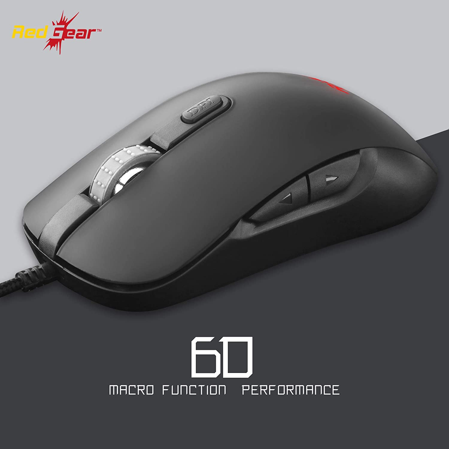Redgear X12 Pro RGB Gaming Mouse with Avago Sensor