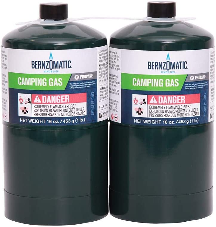 Bernzomatic Propane Camping Gas Tanks