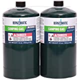 16.4 oz. Camping Gas Cylinders (2-Pack)