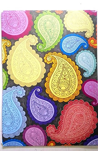 Kabeer Art A4 Size Craft Paper Sheets With Single Side Decorative