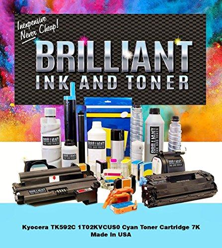 BRILLIANT Ink and Toner Toner Cartridge - Cyan - TK592C-BRL