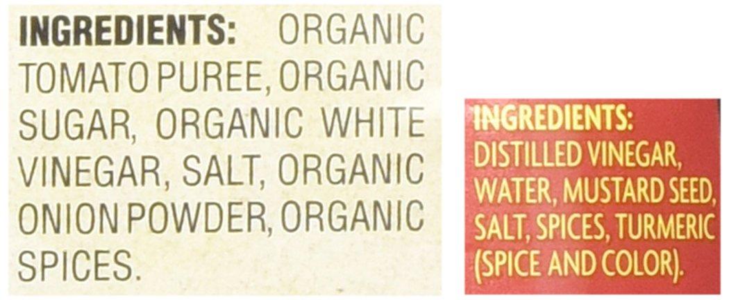 Trader Joe's Organic Ketchup & Spicy Brown Mustard Set