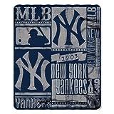 New York Yankees 50x60 Fleece Blanket - Strength Design