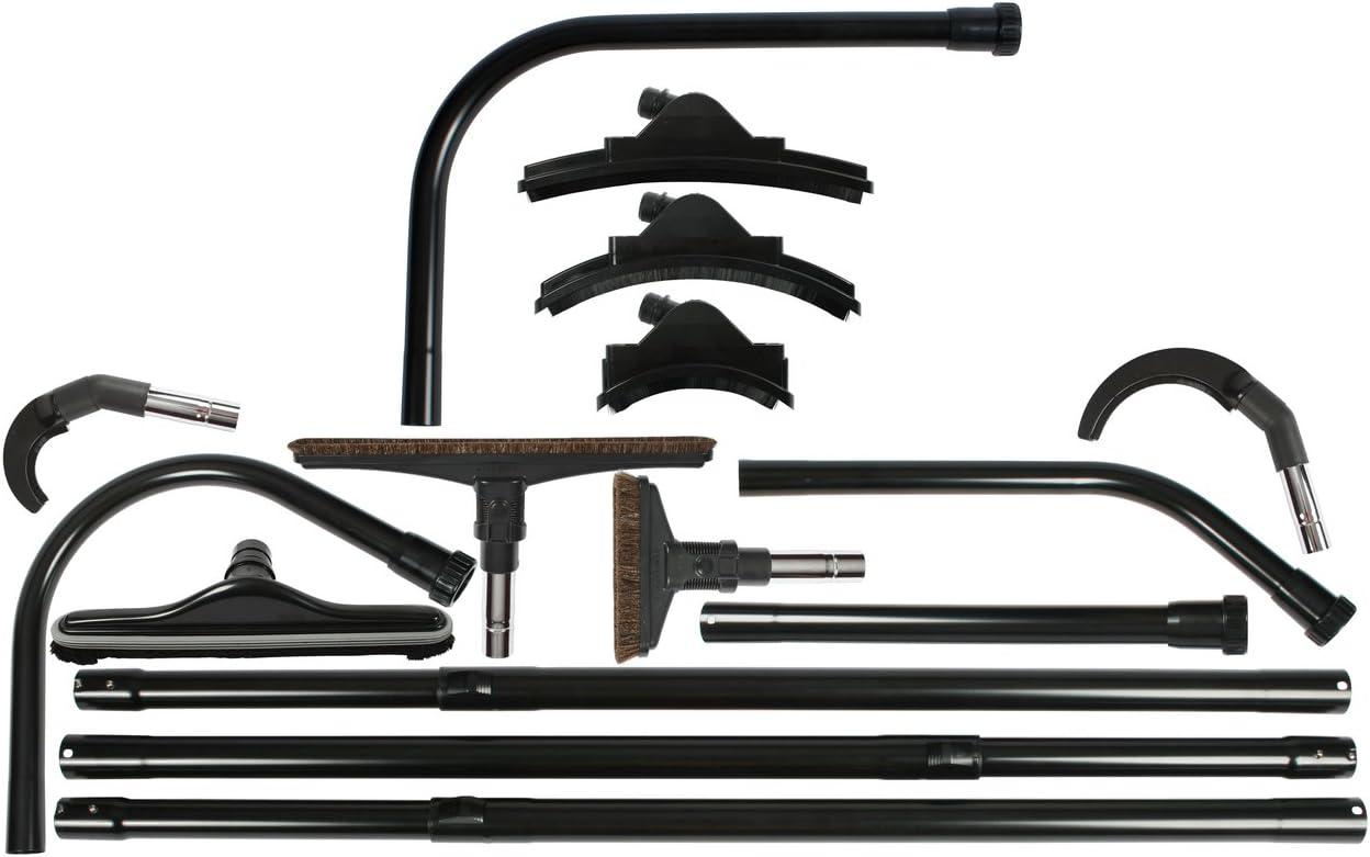 Cen-Tec Systems 93125 High Reach Vacuum Attachment Kit, 24 Ft, Black