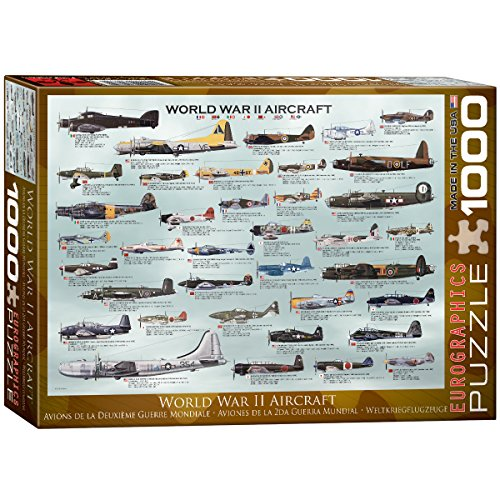 Eurographics WWII Aircraft puzzle (1000pièces)