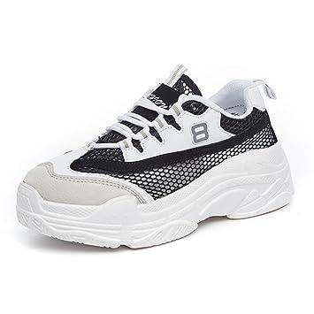 CAI Lovers Mesh Sneakers 2018 Summer/Fall Hombres/Mujeres Zapatos cómodos Low-Top Walking Malla Transpirable Zapatos de Viaje al Aire Libre/Zapatos para ...