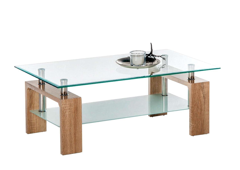Avanti Trendstore - culeo - Mesa de salón de Cristal con 1 ...
