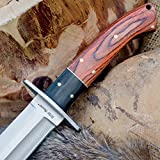 Ridge Runner Montana Toothpick Bowie Knife with Sheath