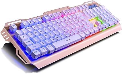 Teclados para gamers Atado con alambre del juego teclado del ...