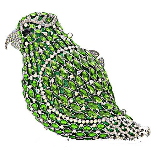 Pleine Gamme Sacs Sac PU Diamant De De à Oiseau Chaîne Embrayage Main C Mode Sac Haut Soirée Cuir Luxe ZFzBAOq