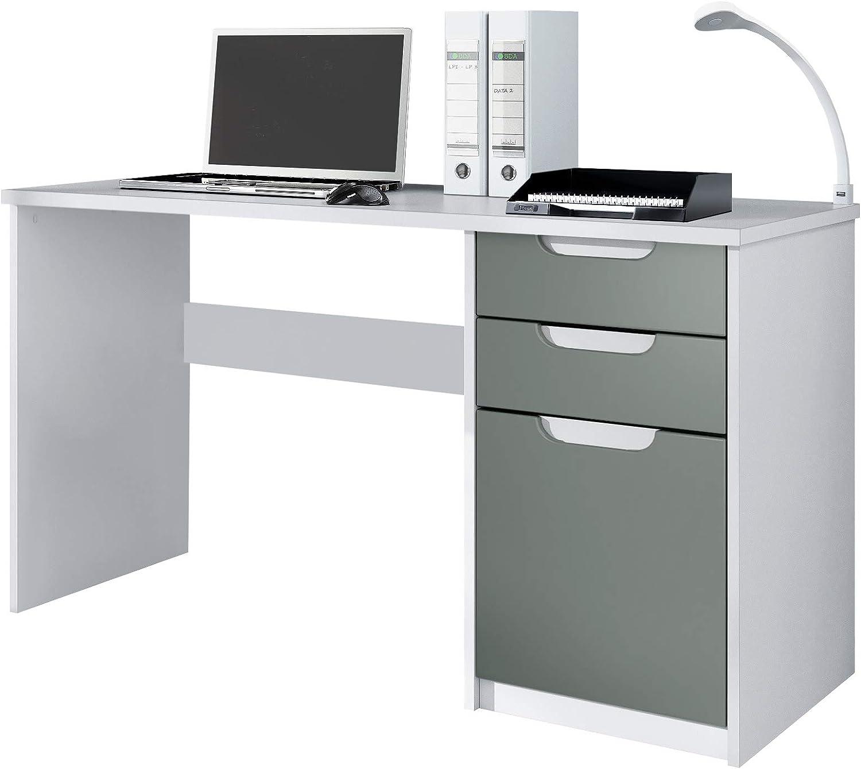 Escritorio Mesa para computadora Mueble de Oficina Logan, Cuerpo ...