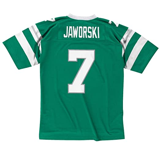 e25b3aa5fc9 Amazon.com : Ron Jaworski Philadelphia Eagles Green Throwback Jersey :  Sports & Outdoors