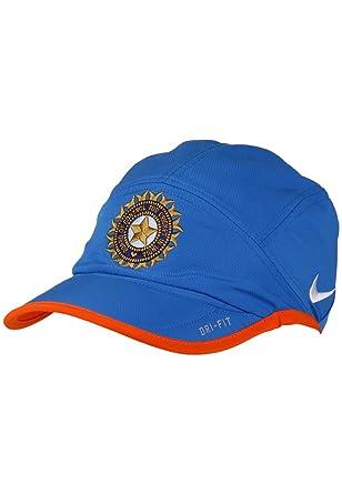 9fcc7402f05d7 Nike India One Day Cricket Cap  Amazon.co.uk  Clothing