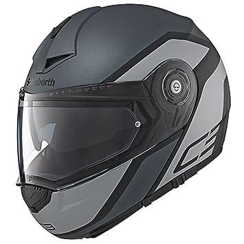 Schuberth C3 Pro Observer Gris Motocicleta Casco