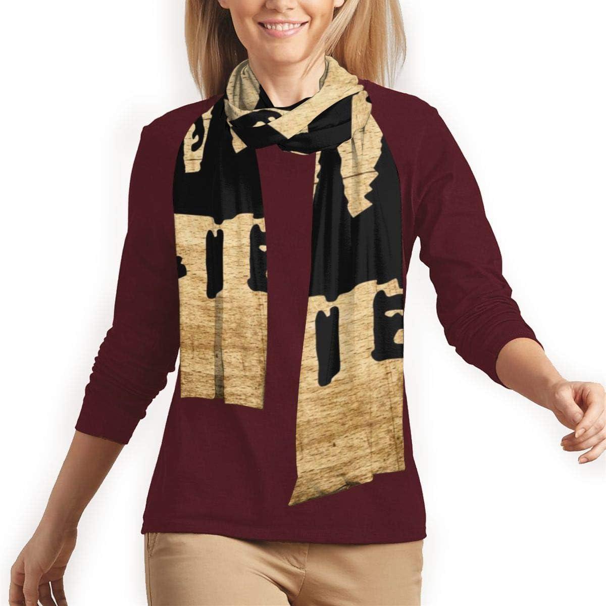 Black Orangutan Animal Black Silhouette Super Soft Long Scarf Shawl Fashion Lightweight Scarves Wraps For Women Men