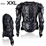Motorcycle Motocross Clothing Racing Men s Armor Spine Chest Protective Jacket XX Large TKT 11
