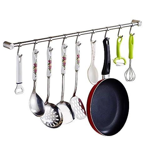 Para utensilios de Rack, aiyoo utensilios de cocina barra accesorio de montaje en pared soporte